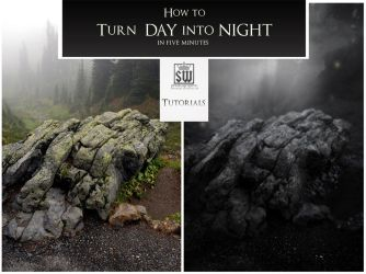 Day Into Night Tutorial (PART ONE) by SteveWackenKing