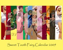 Sweet Tooth Calendar 2009 by jenepooh