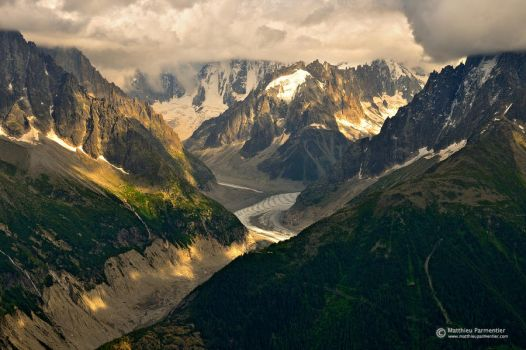 Valley of ice by matthieu-parmentier