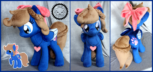 + Plush Commision: Midnight Luna + by LionCubCreations