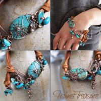 Fishnet Treasure Bracelet by popnicute