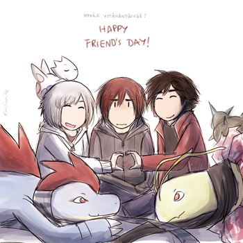 Friend's day by Emilianite