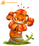 Daily Paint #1156. Tiger Lily by Cryptid-Creations