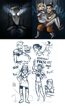 Wheatley 2 _possible spoilers_ by SIIINS