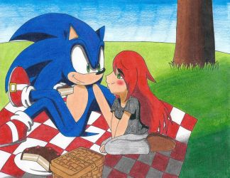 [ART TRADE] Picnic At Couple by RedFire199-S