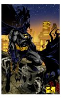The view over Gotham by wordmongerer