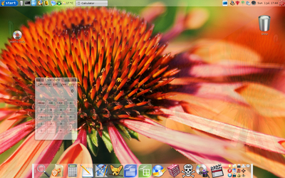 My Wonderful Ubuntu Desktop by EnigMattic