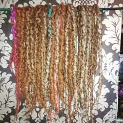 blended dreads with three hints by cybergeisha