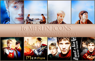 16 Merlin Icons by Zumay-Is-Love