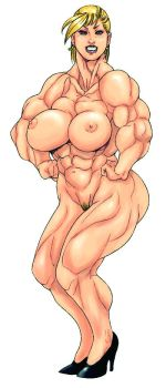 Muscle woman  2006 by belt468