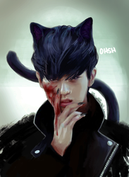 Bad Kitty by ohsh