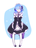 Re:Zero Rem by Ranpuru