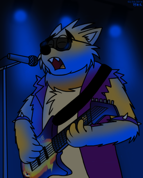 Guitar Wolfgang by BluebottleFlyer