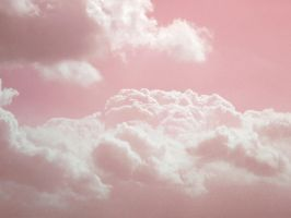 Pink-white clouds by Pen-and-mouse