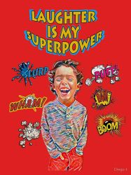 Laughter is my Superpower  by zuzugraphics