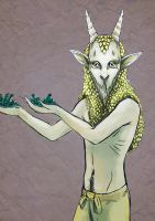 Pinterest Challenge - Guardian of the Forest by S-E-Sagas