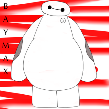Baymax by JellyDiAngelo