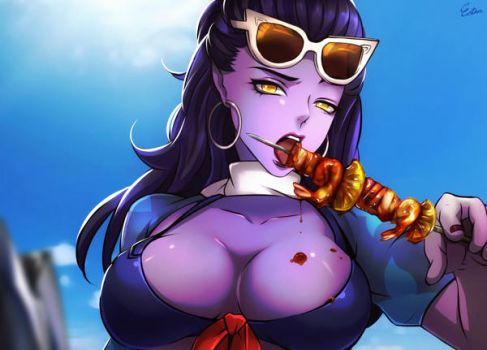 Widowmaker BBQ by Esther-Shen