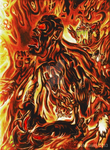Burning Anger by Sabretooth