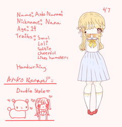 Nana official profile!! by Hyakupasaurus