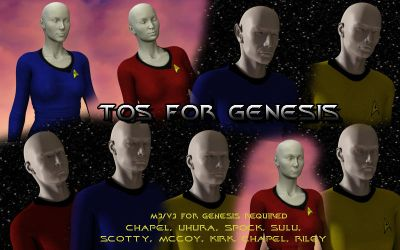 TOS for Genesis by PDSmith