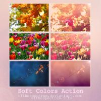 Soft Colors Action by ofthespectrum