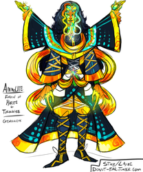 Gemsona Fusion: Ammolite by ViciousStabbings