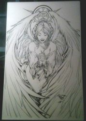 Angel Inked by Crausse