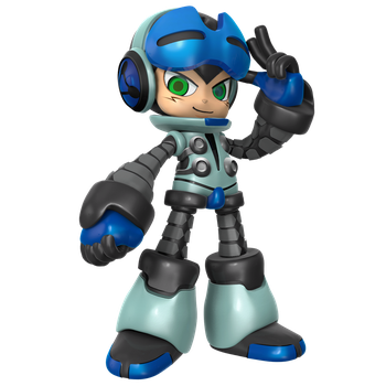Mighty No.9: Beck Alt Colors Render by Nibroc-Rock