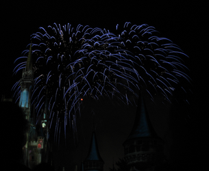 Castle Fireworks Show IMG 1082 by TheStockWarehouse