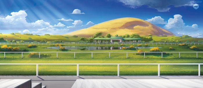 Stagebanner Design: Horserace Track by ExitMothership