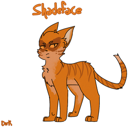 THUNDERCLAN - Shadeface by MoonPaw17