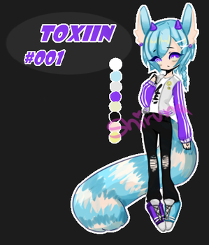 Toxiin Adopt #001 [CLOSED] by Shirvna
