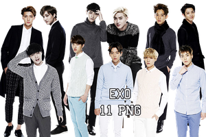 EXO PNG Pack {Lotte Duty Free 2} by kamjong-kai