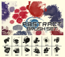 Abstract Brush Set by KiyuMiyu