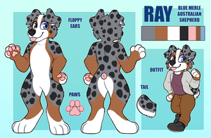 Ray ref sheet by Ponacho