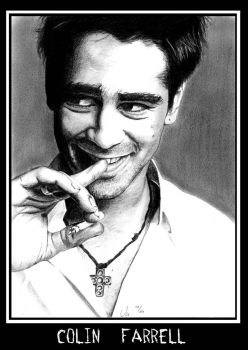 Colin Farrell by Moppi