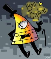 Gravity Falls Fanart~ Bill Cipher by Kouuji