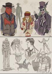 Western Red Hood and Arsenal - 2015 by DenisM79