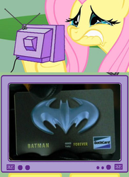 Fluttershy TV: Bat Credit Card by DHK1989