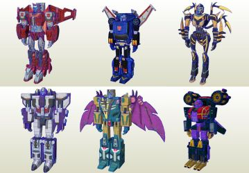 Transformers Earth Wars Pack 08 by PapercraftKing