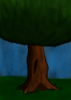 Practicing more trees. :^) by sappels
