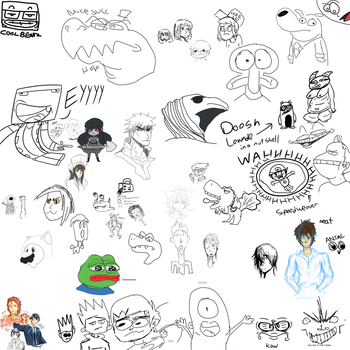 Art Lounge Drawpile #9 by Masterfireheart