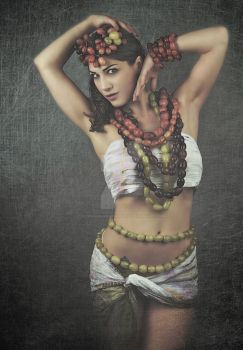 Kymberly, Goddess of Grapes by rebekahw-photography
