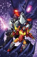 TF MTMTE 51 cover by markerguru