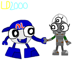 Mixels: Nord and Mudba by Luqmandeviantart2000