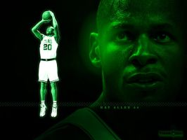 Mean Green - Ray Allen by SnapHook