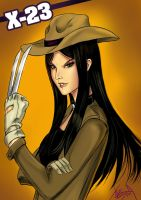 X23 WEST by neurowing