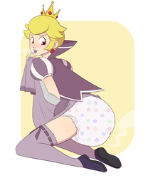 Peach Shadow by PieceofSoap