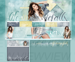 Order Layout ft. Nina Dobrev #40 by BebLikeADirectioner